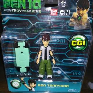 Ben 10 Destroy all Aliens (Ben Tennyson) 4'' Collectable Figure