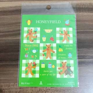 Honeyfield 1995年貼紙