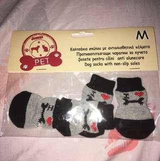 Dog socks (M)
