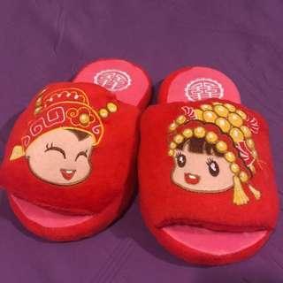 Wedding slippers (indoor) 2pairs
