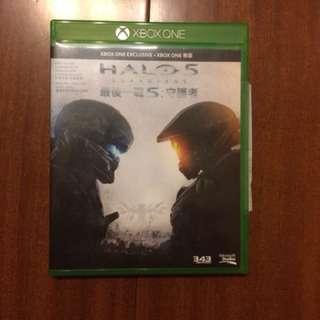 Xbox one 最後一戰5(中文版)halo 5