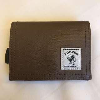 Porter coins wallet