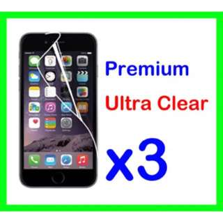 Free Shipping 3 x iPhone 6/6s Screen Protector