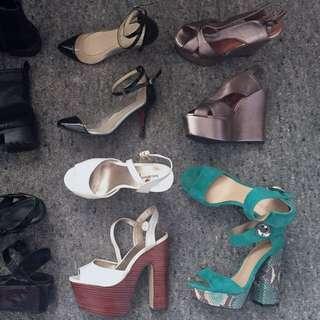 Cheap size 5-6 heels