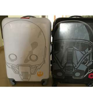 Price Reduce Limited Edition Star Wars Luggage Bags