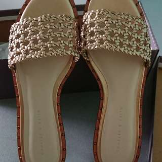 Charles and Keith Gold Color