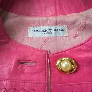 balenciaga jaket kulit
