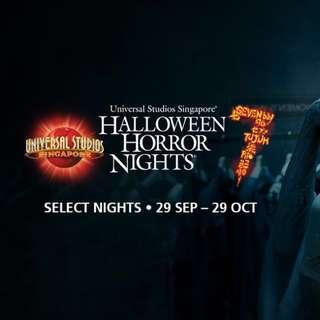Halloween Horror night 7 e ticket