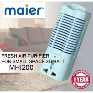 Brand New Plug In Air Purifier For Small Space