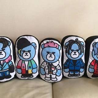 Big Bang Krunk die cut cushion - Daesung (d-lite)