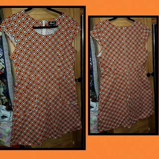 Revival Retro Dress Sz 14