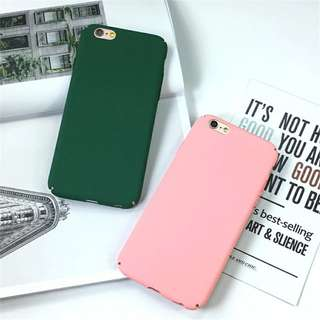 Hard plastic case for iPhone and iphone 7 plus