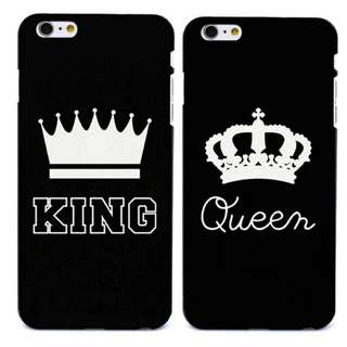 Set of 2 hard plastic cases for iphone 7 and 7 plus