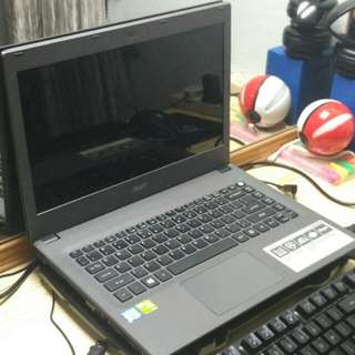 Acer aspire E14 gaming laptop