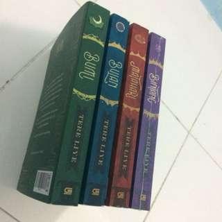 Satu Set Serial Bumi Tere Liye (4 buku)