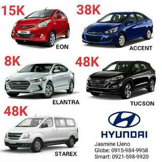 Hyundai Cars Low DP! Fast Approval!