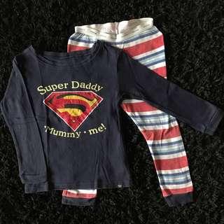 Baby Gap 5yrs pyjamas