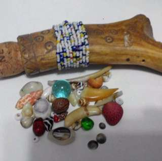 骨頭占卜器具 ??? bone Divination Voodoo Witchcraft tools?? 稀奇古怪 $3000