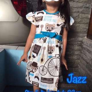 new 😍 Dress Anak Katun 3-6 Tahun