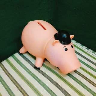 🔥免運 火腿豬 存錢筒 迪士尼 玩偶 公仔 娃娃