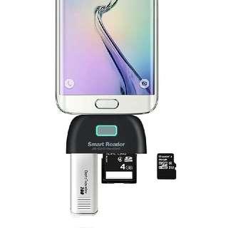 OTG Smart Card Reader Connection Kit
