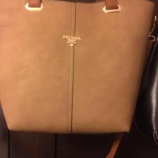 Non-authentic Prada crossbody purse