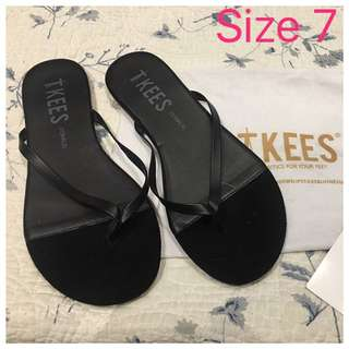 Tkees Size 7 Flip Flop