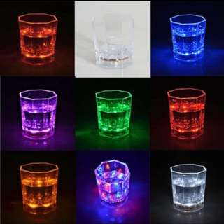 LED Shot Glass! Light Only When Liquor Is Poured! Super Cool!
