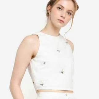 Something Borrowed Daisy Buttoned Back Top