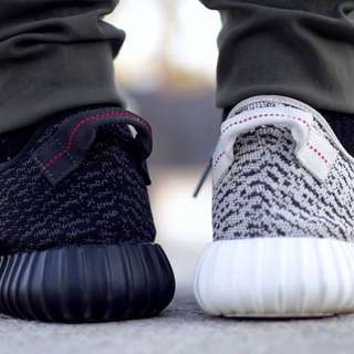 (NA)2pairs For $120Yeezy 350 Turtle Dove And Black Pirate