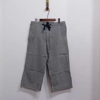 Beams Boy 條紋 寬褲 休閒褲 日本製