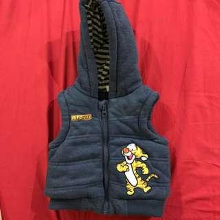 Babies Vest With Hoodie