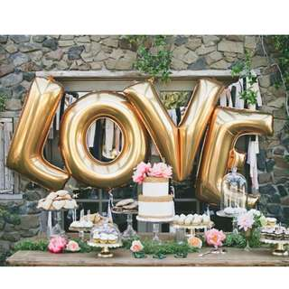 Large Letter Balloons (30 inches)
