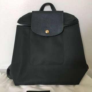 Longchamp Gray Backpack