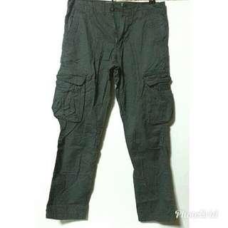 Dark Gray Cargo Pants