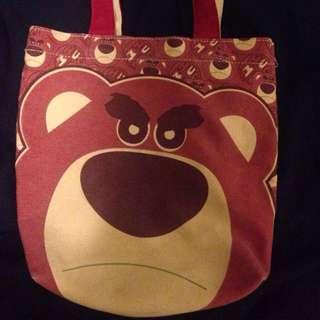 熊抱哥手提袋