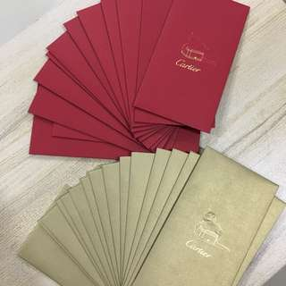 Limited Edition Cartier Red Packets