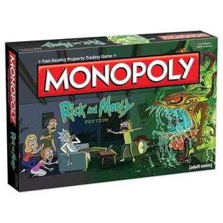 Monopoly Rick & Morty Board Game