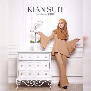 #take10off Kian Suit In Ginger