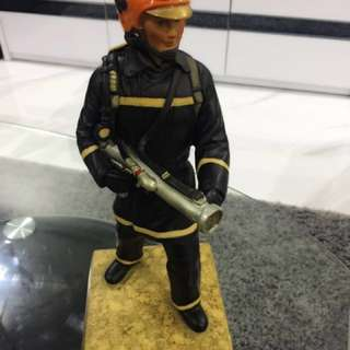 ❗️LAST PIECE❗️ BIG SCDF Firefighter Figurine (Exclusive & Rare)
