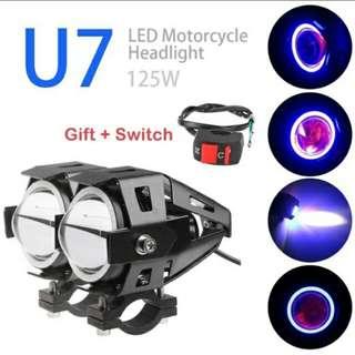 U7 LED Headlights 3000 Lumens.
