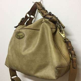 Fossil Explorer Tote/Sling bag - Honey (Preloved) Authentic