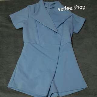 Blue Jumpsuit