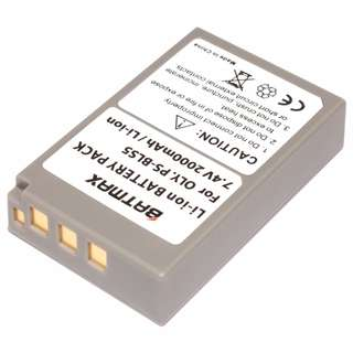 NEW Batteries for Olympus PEN PS-BLS5 BLS-5 BLS5 BLS-50 BLS50 E-PL2, E-PL5, E-PL6, E-PL7, E-PM2, OM-D E-M10, E-M10 II, Stylus 1