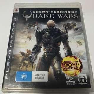 PS3 Quake Wars Enemy Territory