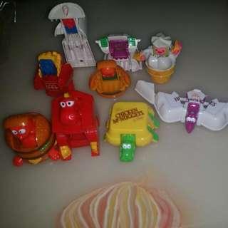 McDonald's Vintage toys