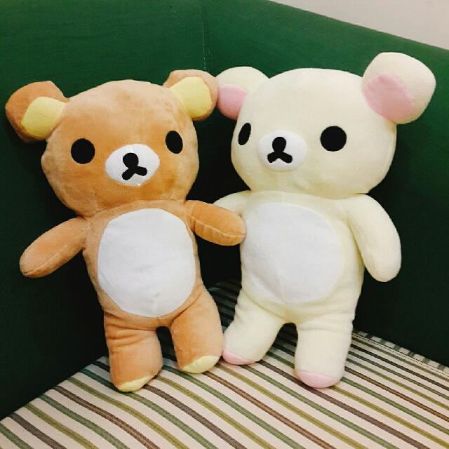 拉拉熊 懶懶熊 公仔(35公分) 玩偶 娃娃
