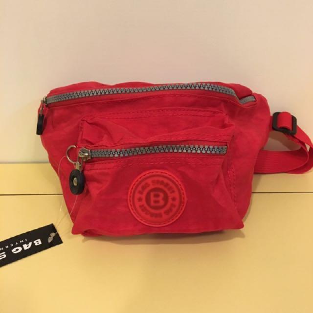 紅色霹靂腰包