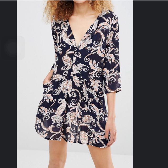 歐美變形蟲洋裝/上衣