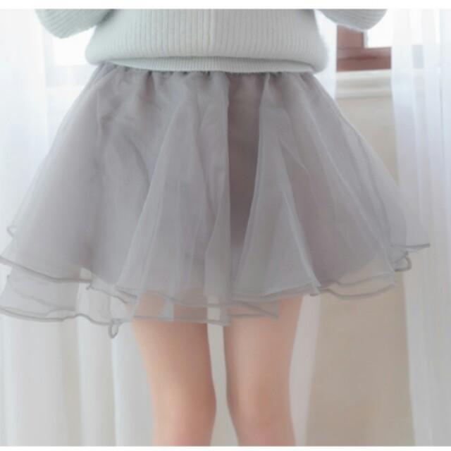鬆緊燈籠褲裙